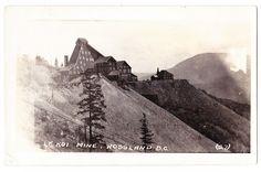 BC – ROSSLAND, Le Roi Mine c.1924-1949 RPPC