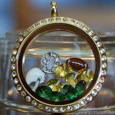 Oregon Ducks college football locket necklace – SportLockets.com