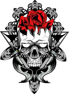 All About Art Tattoo Studio Rangiora. Quality work by Professional Artist. Life Tattoos, Tatoos, Card Tattoo, Tattoo Art, Skulls And Roses, Quote Backgrounds, Skull Art, Tattoo Studio, Dark Art