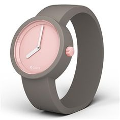 O clock watch - Powder Pink dial with light Grey strap O Bag, Fashion Bags, Womens Fashion, Powder Pink, Oclock, Jewelry Accessories, My Style, Watch, Business