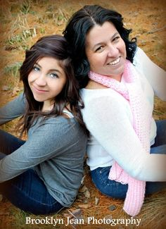 Mother-Daughter Pose -Brooklyn Jean Photography-