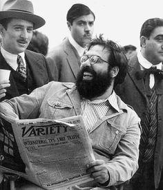 Robert De Niro and Francis Ford Coppola | Rare and beautiful celebrity photos