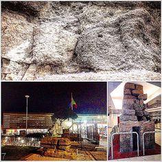 'The Servian Walls' , Roma Termini Station . • • • #Miles7one #nx7 #roma #wanderlus7 #loveitaly #italia #italian #termini  #romatermini #visitrome #rome #loverome #italy #ilikeitaly #igers #igdaily #instagram #goodvibes #travel #travelgram #traveling #travelling #travels #instatravel  #traveler #traveller #mytravelgram #travelphotography #traveltheworld