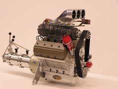 Professional Model Car Building | Re: Scratch building a 1/12 Chevy engine