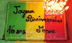 Gâteau Bob Marley