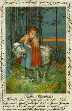 Rothkäppchen and wolf