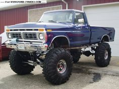 1977 Ford F250 4x4 - like everything about this but I would not have such a high lift and not as big of tires