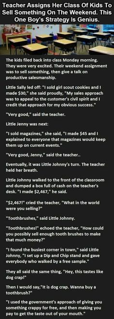 Teacher Is Shocked When One Of Her Students Says This... funny jokes story lol funny quote funny quotes funny sayings joke humor stories funny kids funny jokes
