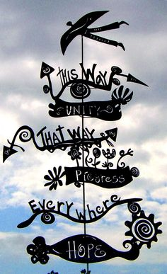 signpost wonderland - Google Search