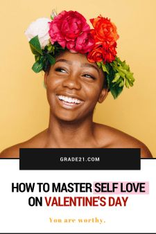 How to a Master Self Love on Valentine's Day #single #loveyourself #selflove #selfcare #valentine