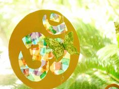 spring suncatcher crafts | Holi is almost here – and we have a colorful craft to bring in some ...