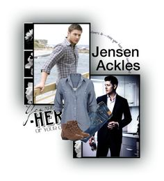 """""""Day 6: Favorite SPN actor/actress"""" by parisinblackandwhite ❤ liked on Polyvore featuring American Eagle Outfitters and Silver Jeans Co."""