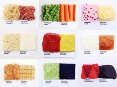 food pantone