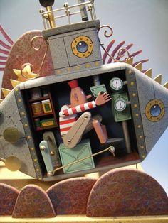 Keith Newstead, Submarine automaton