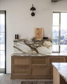 Photo by Jake Arnold in Beverly Hills, California with and Image may contain: indoor via Luxury Kitchen Design, Updated Kitchen, Beautiful Kitchens, Home Organization, Home Remodeling, Kitchen Remodel, Sweet Home, House Design, Interior Design