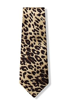 Tan/Taupe Silk Tie | Leopard Print Necktie Wild Ties http://www.amazon.com/dp/B000A6PCC0/ref=cm_sw_r_pi_dp_QAs1ub1K0KBSJ