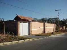 muros e portões para casas estilo americano - Pesquisa do Google
