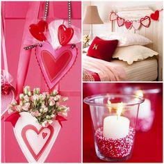 Valentinstag » 5 Romantische Bastelideen Zum Valentinstag #bastelideen  #romantische #valentinstag