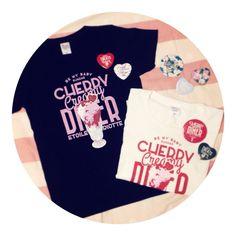 BE MY BABY SUNDAE Tシャツ | Etoile et Griotte Web Store