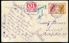 GERMAN OFFICES IN CHINA - Austria, 1907 Nanking postcard franked with Russian 1k+3k KITAY overprinted stamps, tied by German P.O. FUTSCHAU c...