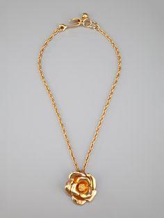 Chanel Vintage 'Camelia' Necklace