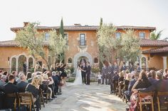 A wedding at ABC's The Bachelor/Bachelorette Mansion!