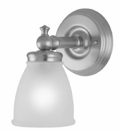 Delta Talbott 1 Light Bath Vanity Light Checkolite International