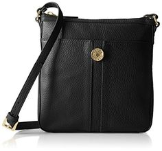 Tommy Hilfiger Elaine Cross Body, Black, One Size ** Find out more details @
