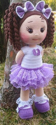 Awesome Amigurumi Crochet and Handicraft Doll for Your Kids! Awesome Amigurumi Crochet and Handicraft Doll for Your Kids! The post Awesome Amigurumi Crochet and Handicraft Doll for Your Kids! appeared first on Pink Unicorn. Doll Amigurumi Free Pattern, Crochet Dolls Free Patterns, Crochet Motifs, Amigurumi Doll, Crochet Appliques, Afghan Crochet, Crochet Animals, Crochet Toys, Crochet Baby
