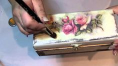 co to jest porporina Napkin Decoupage, Decoupage Tutorial, Decoupage Box, Decoupage Vintage, Handmade Crafts, Diy And Crafts, Paper Crafts, Craft Projects, Projects To Try