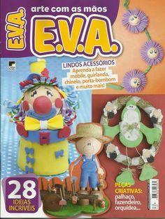 Revistas de manualidades gratis: como hacer muñecos fofuchos