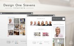 Interior Design Company Website Refresh