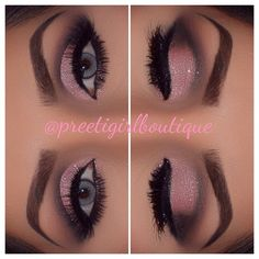 I love this awesome look. Recreate with younique products. #makeup#3Dmascara