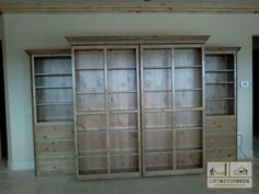 # DIY Library Murphy Bed Plans PDF Plans Download | bedplans