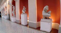 Galeria de Moldagens - Piso: Cerâmica francesa.