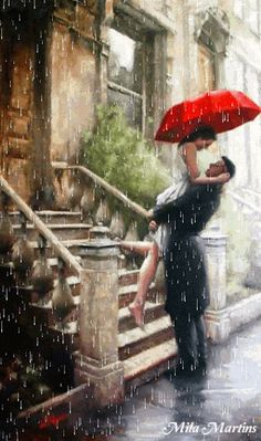 Artist Daniel Del Orfano Limited Edition Art Print titled: Welcome Home. Fine Art Prints, paintings and original artwork for sale, buy or resale. Art Amour, Umbrella Art, Drawing Umbrella, Umbrella Wreath, Beautiful Paintings, Romantic Paintings, Oeuvre D'art, Love Art, Painting & Drawing