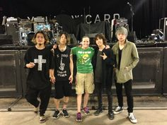 Taken with One OK Rock today at the Meet and Greet!