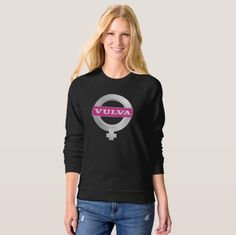 VULVA badge funny t-shirt.  #vulva #volvo #humor #funny #badge #logoparody #parody #logo #girlpower
