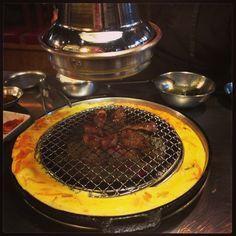 Korean BBQ on Table Gangnam Seoul by DesignClaud
