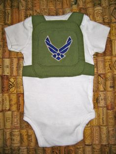 U.S. Air Force Onesie. when they will see their uncle!!!!