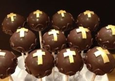 Religious cake pops by The Cupcake Tree Bakery 661, via Flickr