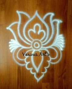 Simple Rangoli Designs Images, Rangoli Designs Flower, Easy Designs, Rangoli Border Designs, Rangoli Ideas, Beautiful Rangoli Designs, Kolam Designs, Rangoli Borders, Kolam Rangoli