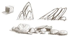 04/12/2015 - Rock and Stone Form Practice ~1/2 hour