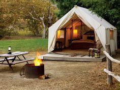 Top luxurious campgrounds | Sunset