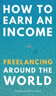 Ah, this is the perfect way to make money traveling! | The Newest Trend: Freelancing Around The World - How To Do It... Learn the key steps to take your income traveling with you as you begin honing your skills and freelancing around the world!
