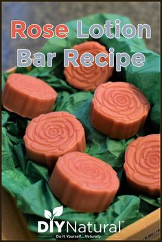 DIY Chocolate Covered Roses Lotion Bars for V-Day!