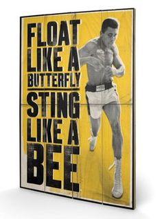 Muhammad Ali - Float Like A Butterfly  Puukyltti