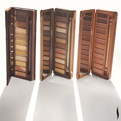 Urban Decay Naked vs. Naked2 vs. Naked3. Which palette wins? #Sephora #eyecandy #makeup