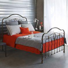 Linge de lit en lin lavé: les couleurs de la rentrée chez merci - 100 Idées Déco