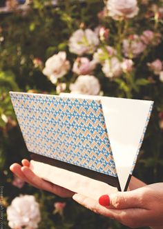Make this: Vintage Book Cover Mail Holder | Domestic Whimsy #handmade #DIY #vintage